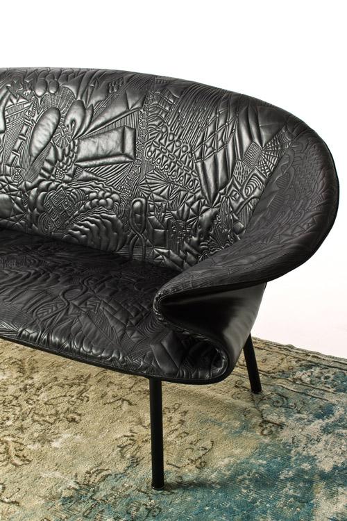 sofa doodle front moroso 2