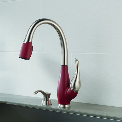 Delta Allora Stainless Steel Kitchen Faucet