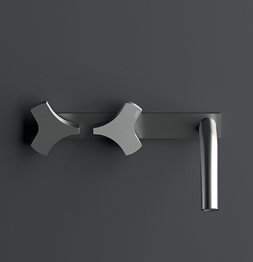 satin stainless steel faucet cea design ziqq 2 Satin Stainless Steel Faucet by Cea Design   Ziqq