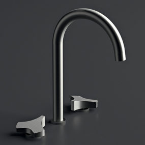 Satin Stainless Steel Faucet by Cea Design – Ziqq