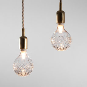 Crystal Bulb Lighting by Lee Broom