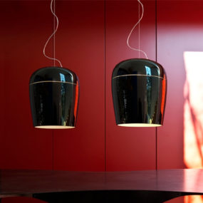 Blown Glass Pendant Lamps by Prandina