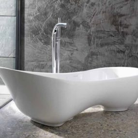 freestanding soaking tub for two. Bathrooms Freestanding Tubs  new Ravello Amalfi tubs by Victoria Albert