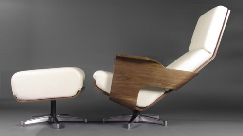 Wonderful Bent Plywood Chair By Ricardo Garza Marcos
