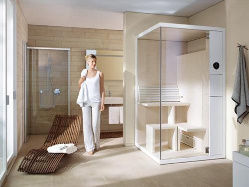 super compact sauna duravit inipi b 1 Super Compact Sauna by Duravit   Inipi B