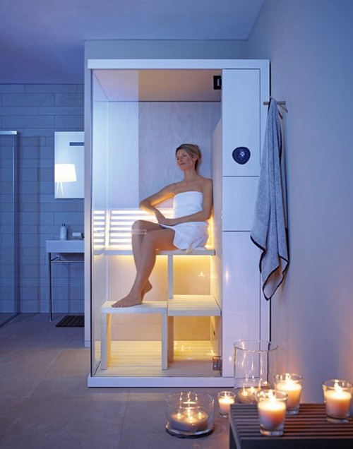 super compact sauna duravit inipi b 2 Super Compact Sauna by Duravit   Inipi B