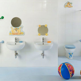 Cute Kids Bathroom Ideas by Ponte Giulio