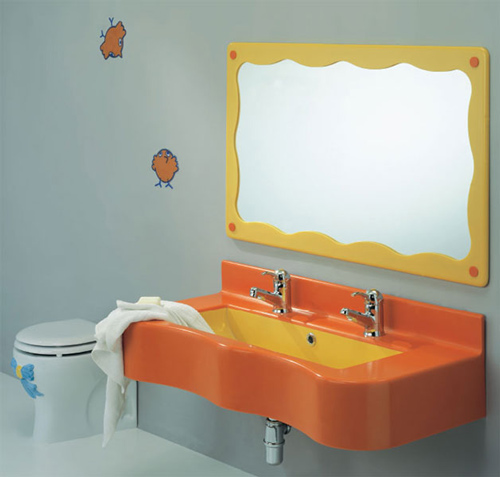 View In Gallery Cute Kids Bathroom Ideas Ponte Giulio 3