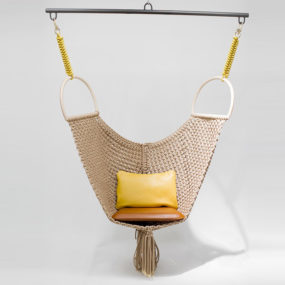Patricia Urquiola's Swing Chair for Louis Vuitton Objets Nomades