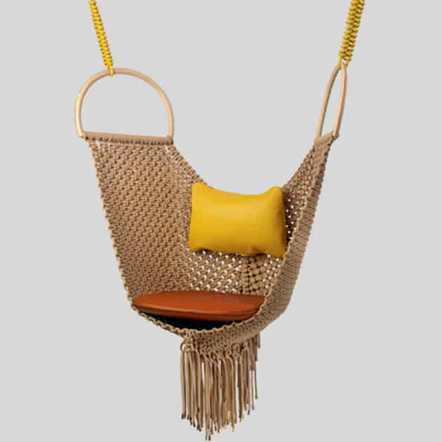 patricia urquiola swing chair louis vuitton Patricia Urquiolas Swing Chair for Louis Vuitton Objets Nomades