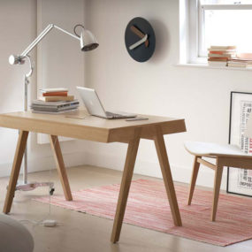 Design Chameleon Office Desk is both Mid-century and Modern
