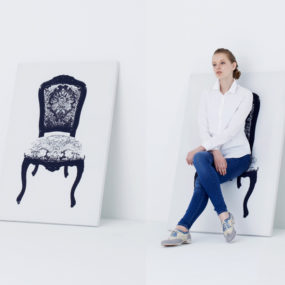 Astonishing Dual Purpose Art – Canvas Chair by YOY Japan
