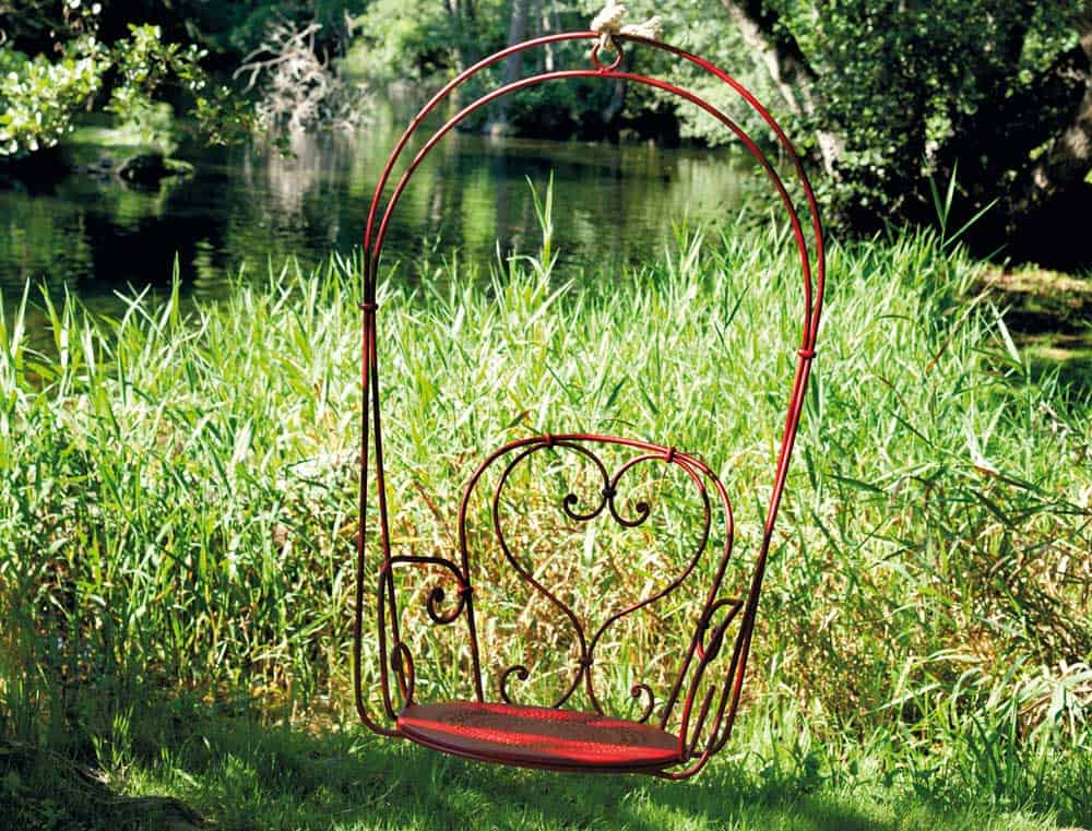 Steel Hanging Armchair by Fermob