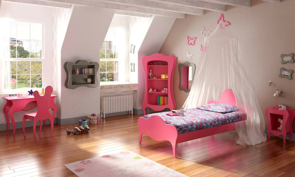 Kids Fantasy Bedroom Furniture from Mathy by Bols