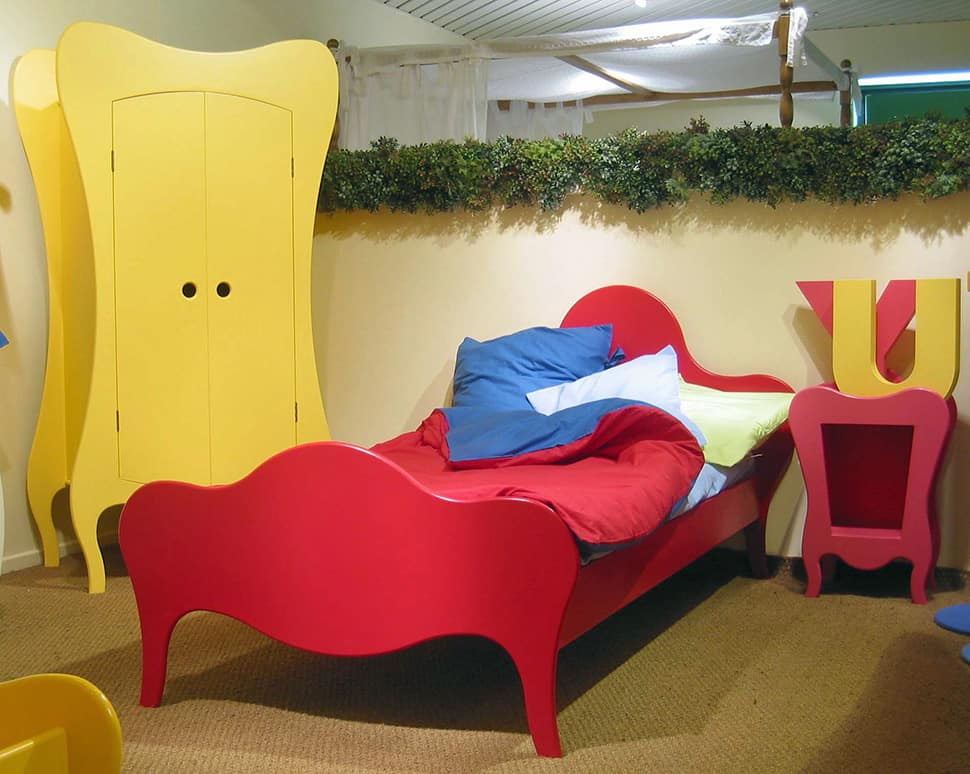 Kids Bed With Sofa