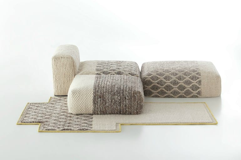 Delicieux View In Gallery Wool Furniture  Gan Mangas Spaces Collection Patricia Urquiola