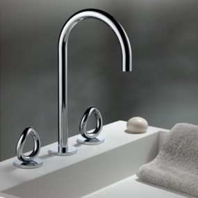 Collection O Bathroom Faucets from THG Paris
