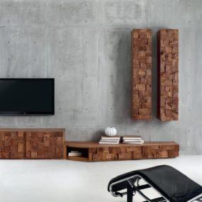 Random Sized Wood Blocks Featured in Oak Collection