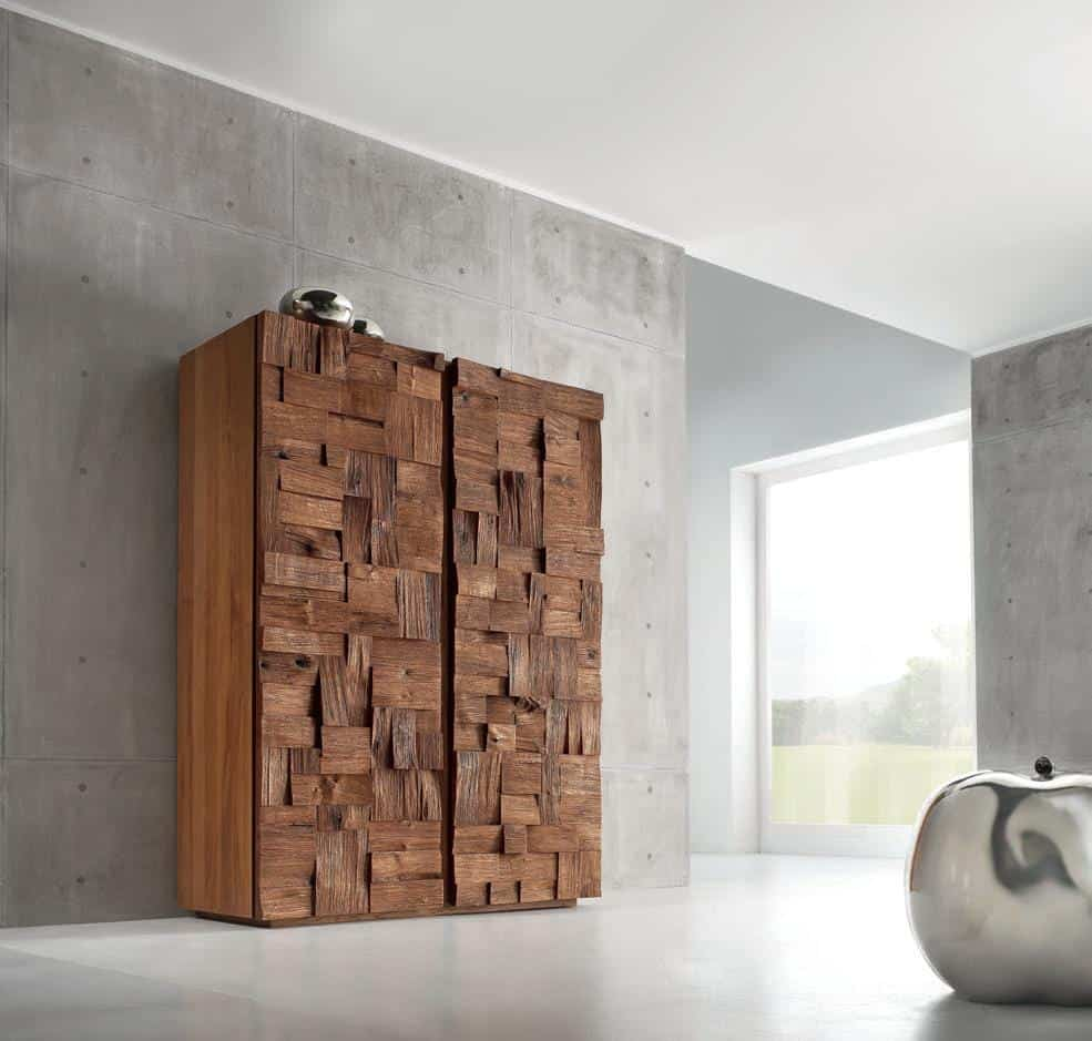 Random Sized Wood Blocks Featured In Oak Collection