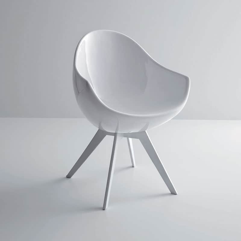 Marvelous Egg Shaped Jane Chair Creates A Statement