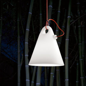 Simple Outdoor Floor or Hanging Lamps by Martinelli
