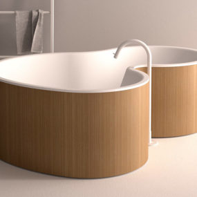 Super Modern and Super Lux Soaker Tub: DR by Agape