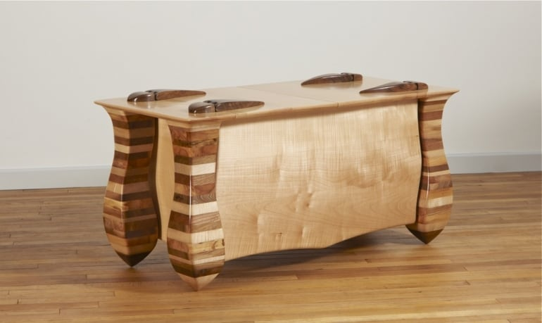 Attractive Laminate Wood Furnitur: The Amazing Creativity And Craftsmanship Of Allan  Lake Furniture,Design