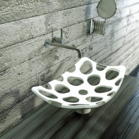 Penta Vessel Sink by Mac Stopa features False Voids