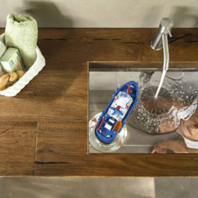 Transparent Bottom Sink: Wildwood by Lago