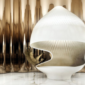 Luxuriously Decadent Cleopatra Bathtub by Ippolito Fleitz Group