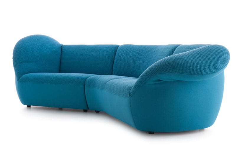 Comfortable colorful living room furniture by leolux for Colorful living room furniture