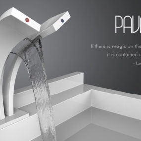 Pavati Dual Stream Waterfall Faucet
