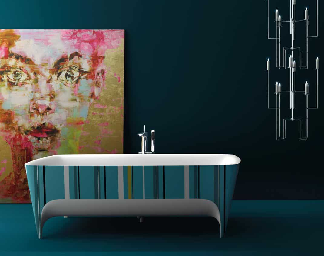 Accademia Bathtubs By Teuco Are Strikingly Beautiful Art Forms