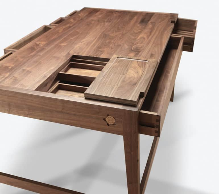 No S Or Glue In Solid Wood Desk By Wewood