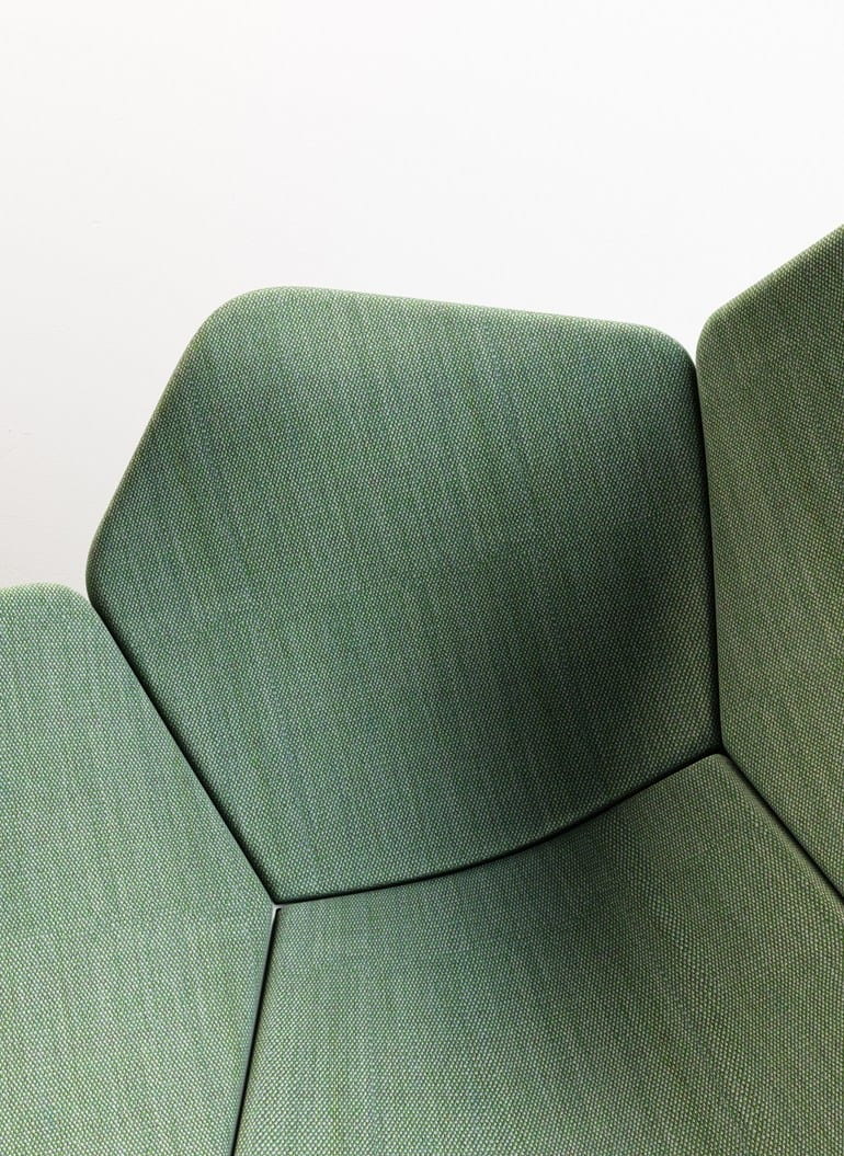 Fabric Lounge Chair Atoll By Patrick Norguet