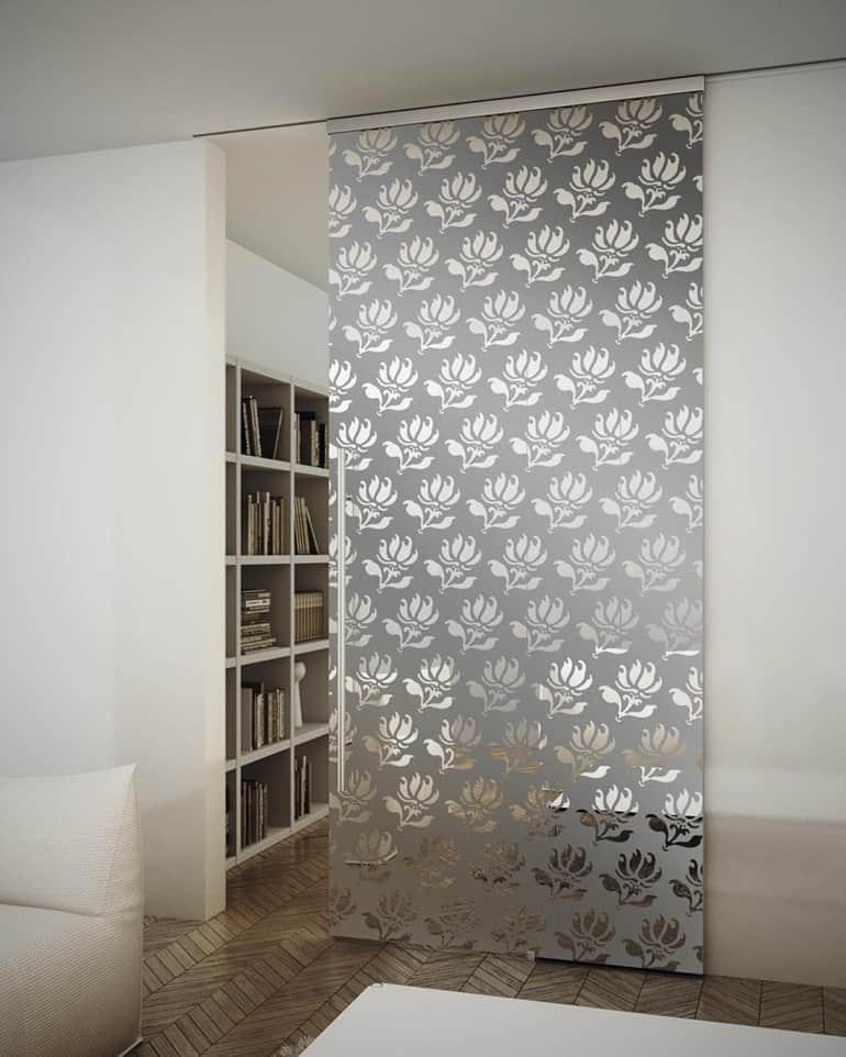 Suspended Art Glass Doors Sinthesy By Foa