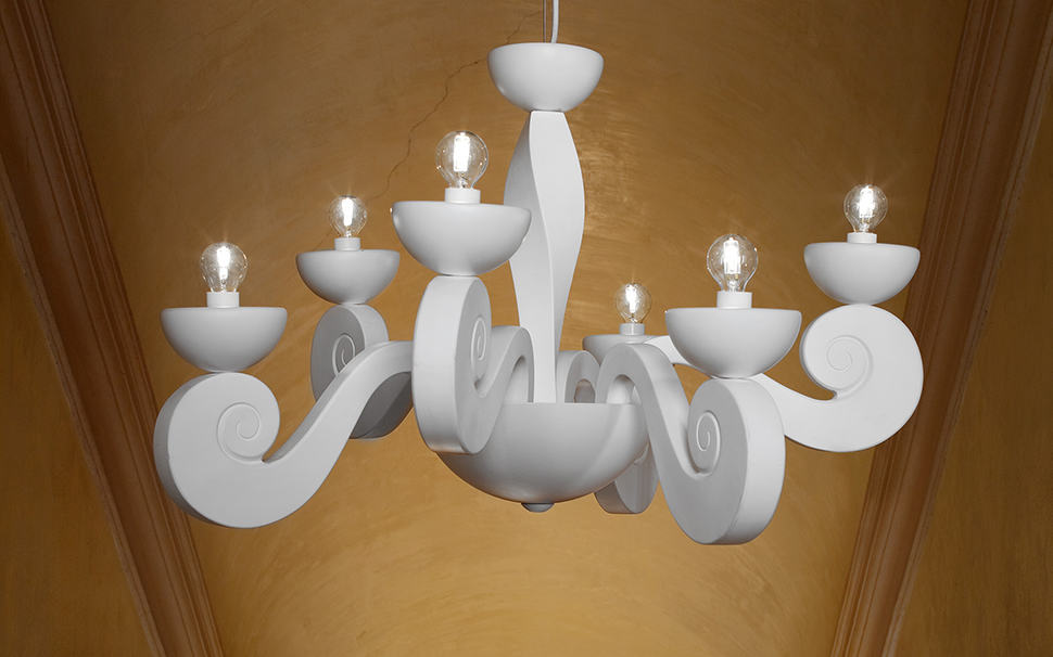 Minimalist approach to Traditional Silhouettes defines Botero Lights by Masiero