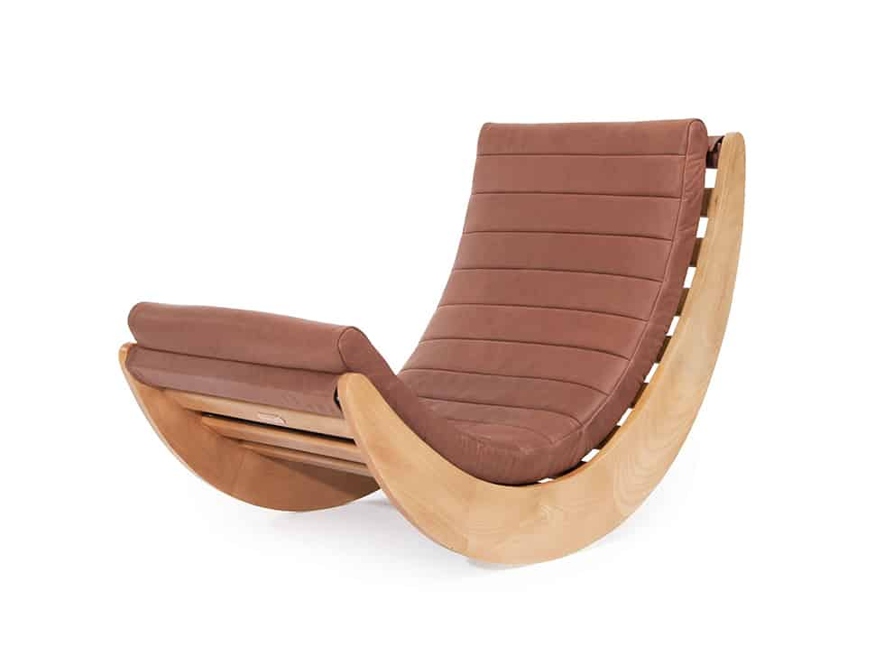 Dangerous Curve: Relaxer One Rocking Chair by Verner Panton