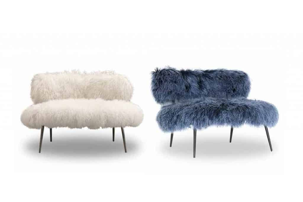 Elegant View In Gallery Faux Fur Furniture From Baxter By Paola Navone