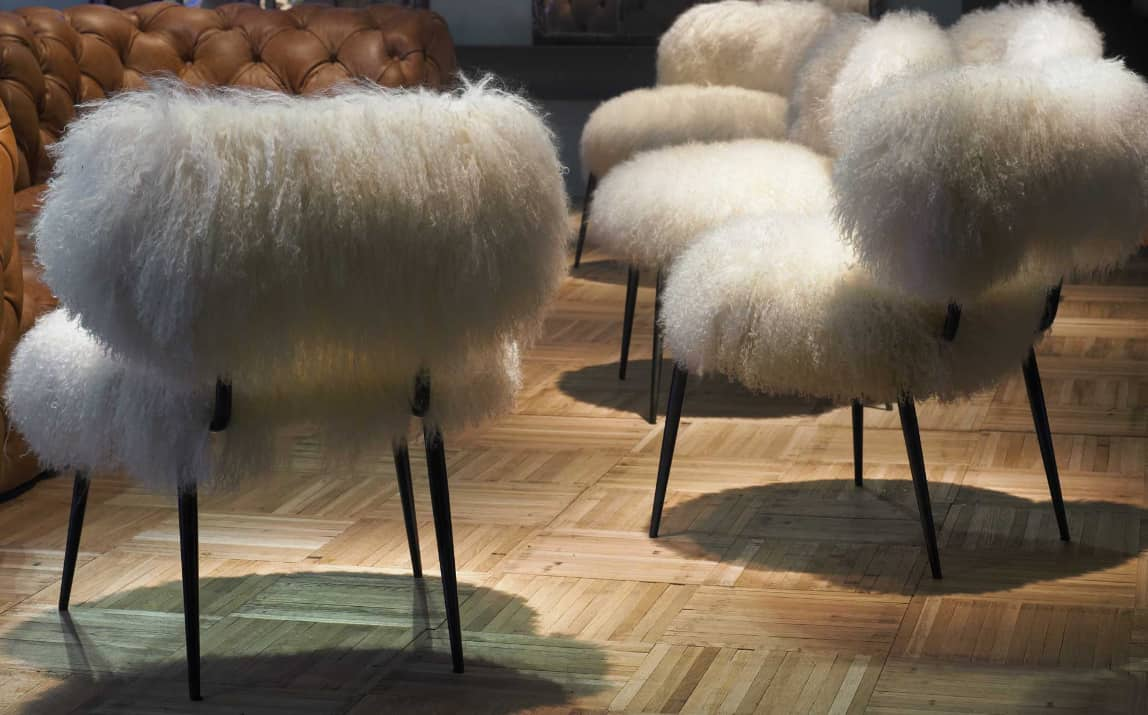 Faux Fur Furniture From Baxter By Paola Navone Nepal