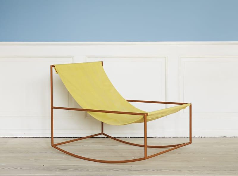 Aesthetically Pleasing Rocking Chair By Muller Van Severen