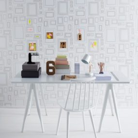Everyone's an Artist: Frames Wallpaper by Taylor & Wood