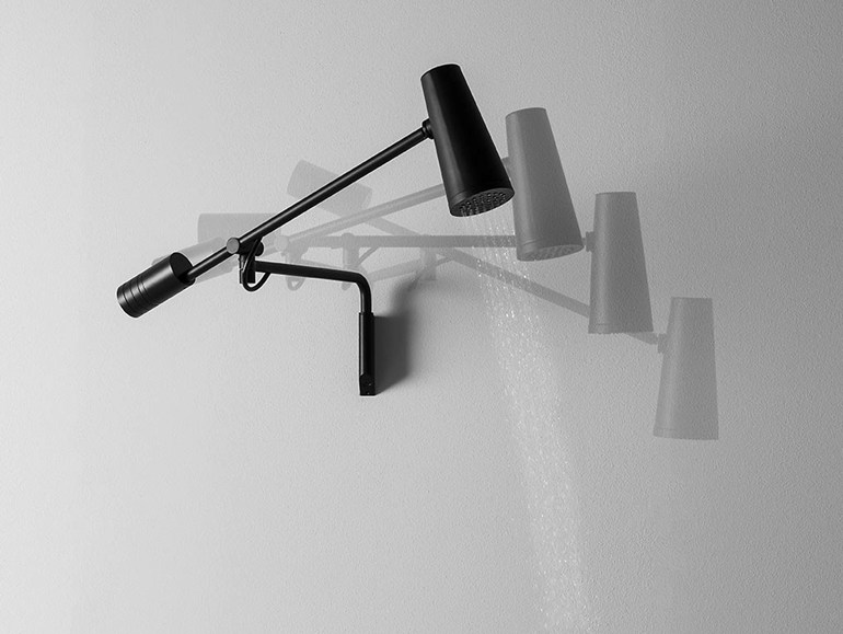 Closer by Zucchetti is a Wall Mounted Overhead Shower