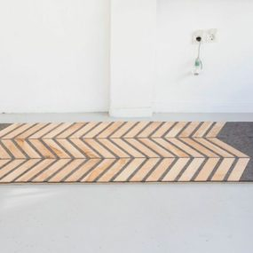 Wool and Wood Hybrid Carpets by 157+173 Designers