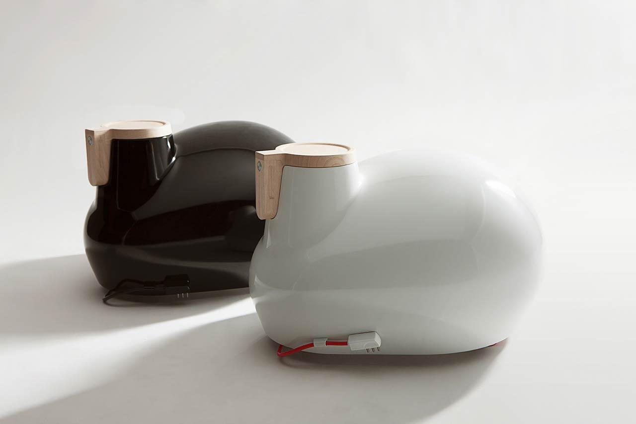 Kangeri Nomadic Radiator by Tubes Radiatori is Modern Heater