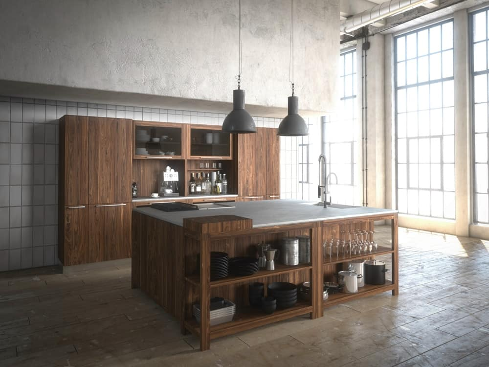 Awesome View In Gallery Loft Kitchen Team7 Modern Woodsy 12