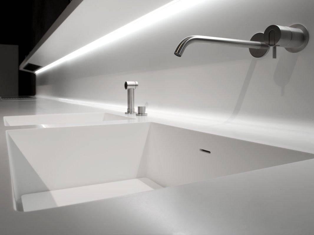 Futuristic Wall Mounted Kitchen by Antonio Lupi - LaCucina