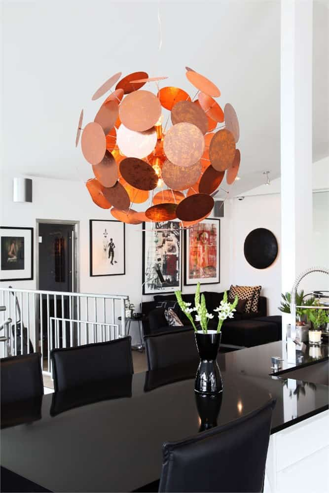 By Rydens Modern Copper Lights Shine