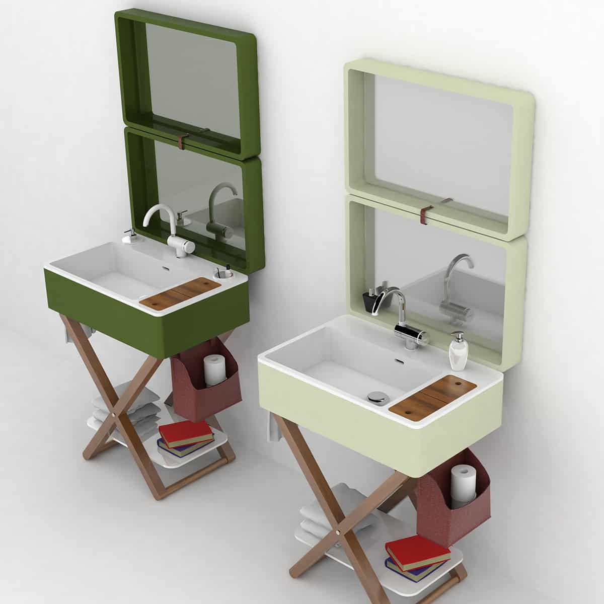 Bathroom in a Suitcase: My Bag by Olympia