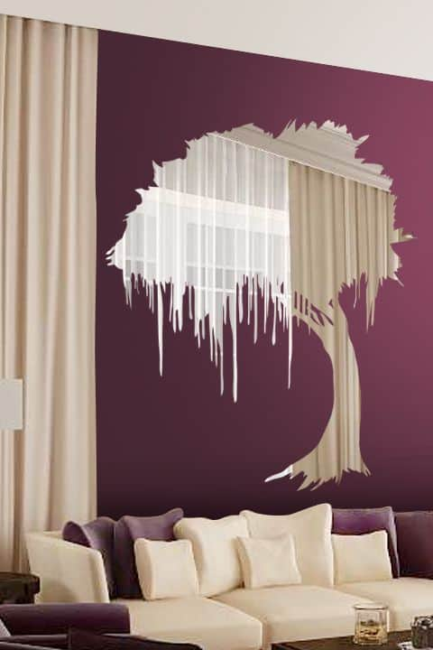 Wall Sticker Mirror At Home And Interior Design Ideas - Wall decals mirror